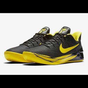 Nike Kobe A.D. Oregon Ducks Black 922026-001 NWOB